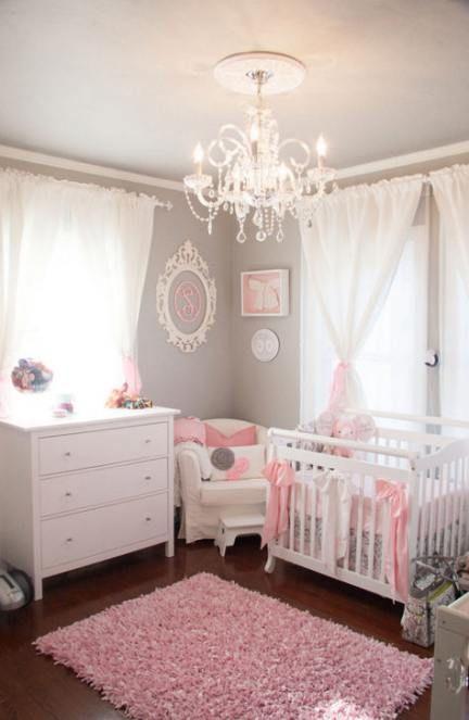 34 Ideas For Baby Nursery Bedrooms Chandeliers
