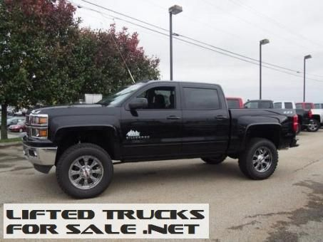Lifted Trucks 2015 Chevy Silverado 1500 LT Rocky Ridge Alpine Lifted