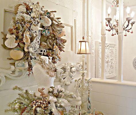 Excellent Pennys Vintage Home Copper And Aqua Coastal Christmas Download Free Architecture Designs Saprecsunscenecom