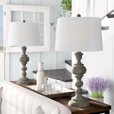 Gracie Oaks Mathena 30 Table Lamp Set In 2020 Lamps Living Room