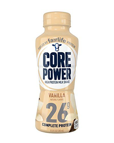 Fairlife Core Power High Protein 26g Milk Shake Vanilla Packaging May Vary 11 5 Ounce Bottles Pack Of 12 Core Power Protein Shake Protein Power Protein
