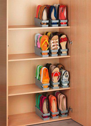 Wenko Schuhhalter In Verschiedenen Ausfuhrungen In 2020 Schuhhalter Schlafzimmerorganisation Aufbewahrung Und Organisation