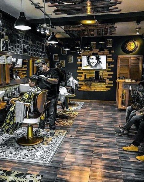 Top 80 Best Barber Design Ideas Manly Interior Decor