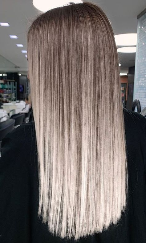 Blonde Hair Looks, Blonde Hair With Highlights, Brown Blonde Hair, Hair Color Balayage, Warm Blonde, Cool Brown Hair, Balayage Straight Hair, Ashy Hair, Brown To Blonde Balayage