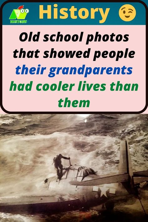 #Old #school #photos #that #showed #people #their #grandparents #had #cooler #lives #than #them #history #historyofart #HistoryNerd #historyinpictures #historylover #historybuff #HistoryInTheMaking #historychannel #historyvikings #HistoryLesson #historygeek #historymemes #historymade #HistoryMuseum #historychannelindia #historytv18india #historytv18 #historylovers #HistoryMakers #history4u #historytour #historybooks #HIStoryEra #historybook #historyplace #HistoryMaker #historyearned #historyteac History Memes, History Books, History Facts, History Tattoos, History Channel, School Photos, History Museum, Grandparents, Awesome
