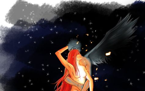 Icarus and Sun - a painful Love by Sa-L