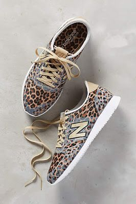Swap Your Ballet Pumps For An Awesome Pair Of Leopard Print Trainers - Ace For Fall Styling!