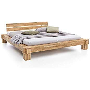 Sam Massiv Holzbett 180x200 Cm Johann Mit Schubkasten Bett Aus Geolter Wildeiche Amazon De Kuche Haushalt Holzbett Echtholz Mobel Holzbetten
