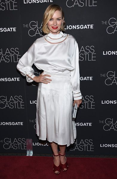 Naomi Watts attends 'The Glass Castle' NY screening.