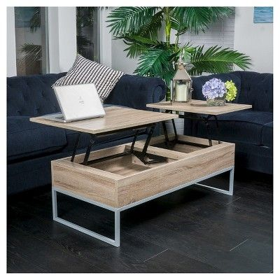 Lift Functional Coffee Table Sonoma Tan Christopher Knight Home In 2020 Coffee Table With Storage Unique Coffee Table Coffee Table Design