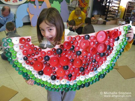 Recycling - do this with plastic cups!!