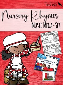 Looking for fun visuals to teach nursery rhymes? This comprehensive