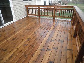 Maze Lumber Decking 101 Stain Vs Paint Vs Seal In 2020 Staining Deck Wood Deck Stain Deck Stain Colors