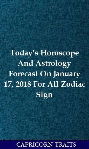 scorpio horoscope january 17