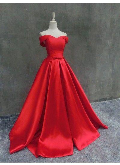 a40bef4fb7105 Chic Abiballkleider/Abendkleider Duchesse-Linie Carmen-Ausschnitt ...