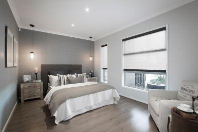 Bedroom colour scheme