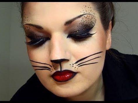 Cat Face Paint Kitty Cat Face Painting Designs Cat Halloween Makeup Halloween Makeup Scary Halloween Make