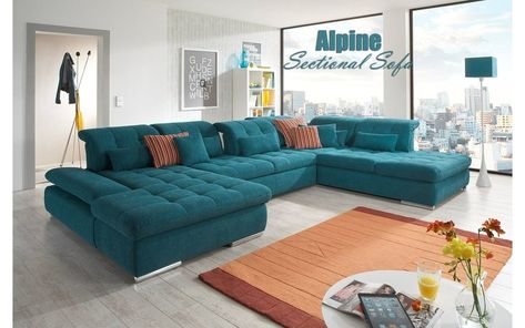 Turquoise Sectional Sofa Wallpaperall With Images U Shaped