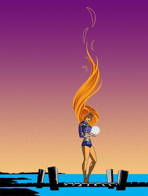 Starfire Raven Zeichentrick Lesbisch Teen Titans