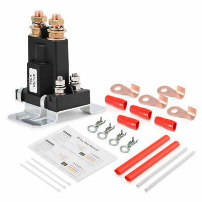 Sponsored Ebay 4 Pin Spst Auto Start Contactor High Current Starter Relay Kit Dc 12v 24v 500a In 2020 Car Starter Relay Ebay