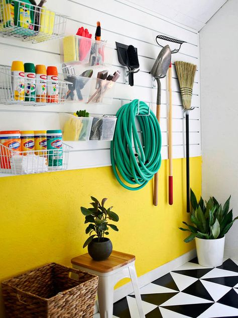 Yard work is a breeze when your garage is organized! Get this wall ...