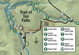 Image Result For Silver Falls State Park Map Oregon Hikes Oregon Waterfalls Silver Falls State Park
