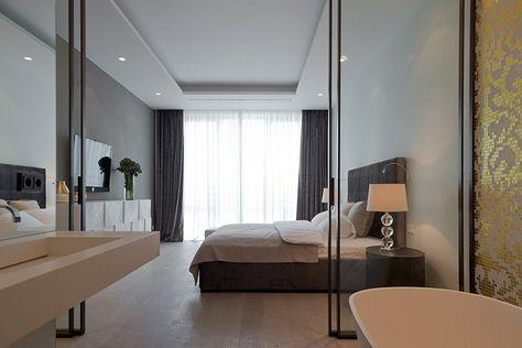 Cose La Camera Da Letto Padronale : Camera da letto bagno padronale design moderno interior design