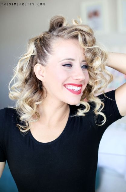 Sandy From Grease Hair Tutorial Grease Hairstyles Sandy Grease Hair Sandy Grease