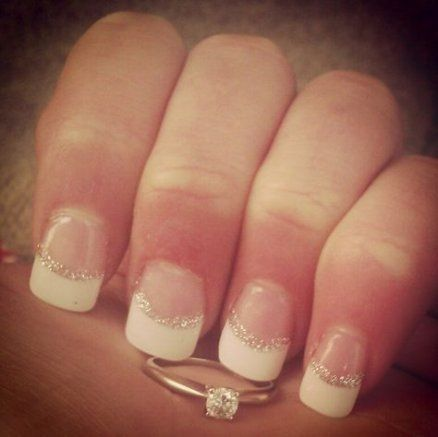 57 Trendy Ideas Wedding Day Nails French Engagement Rings
