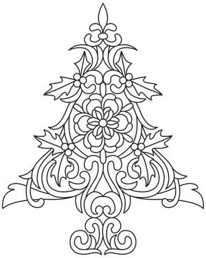 White Christmas - Christmas Tree_image Could do parchment? Christmas Tree Images, Christmas Colors, All Things Christmas, White Christmas, Christmas Crafts, Christmas Decorations, Xmas, Christmas Coffee, Christmas Coloring Pages