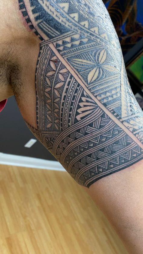 Samoan Tattoo by Michael Fatutoa