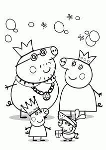 Gratis Kleurplaten Peppa Pig.Peppa Pig Coloring Pages For Kids Printable Free