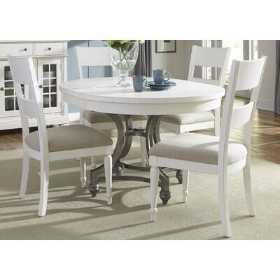 Saguenay Extendable Dining Table Reviews Birch Lane Kitchen