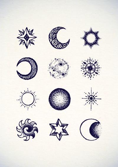Sun and Stars by James-McKenzie on DeviantArt