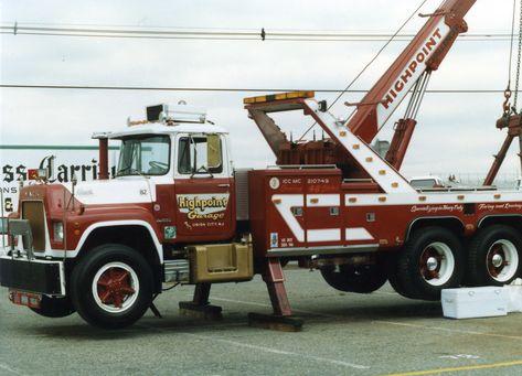 1982 Mack R600 Challenger 35 Ton Englishtown Diesel Nationals Around 1986 Mack Trucks Tow Truck Trucks