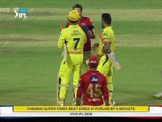 Cricket Highlights Csk Vs Kxip Ipl 2018 Match 56 Highlights