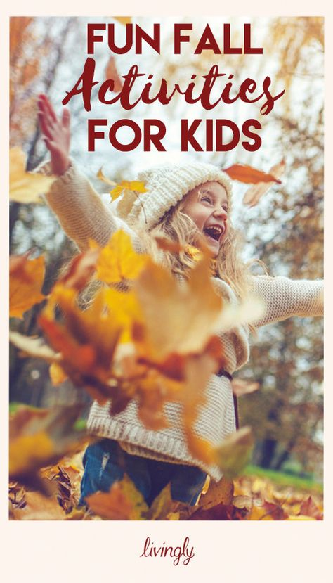 Your kids will absolutely love these fun fall activities.