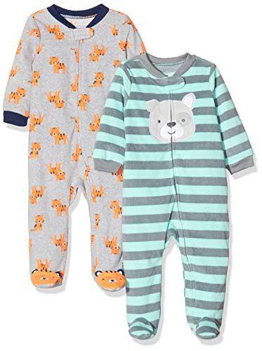 Simple Joys by Carters Baby Girls Lot de 2 jeux de pieds en coton