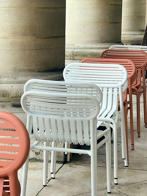 Chaise de jardin design WEEK-END - 5 coloris - Petite ...