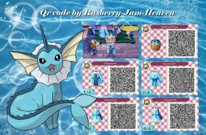 Vaporeon Dress And Hat By Rasberry Jam Heaven Animal Crossing