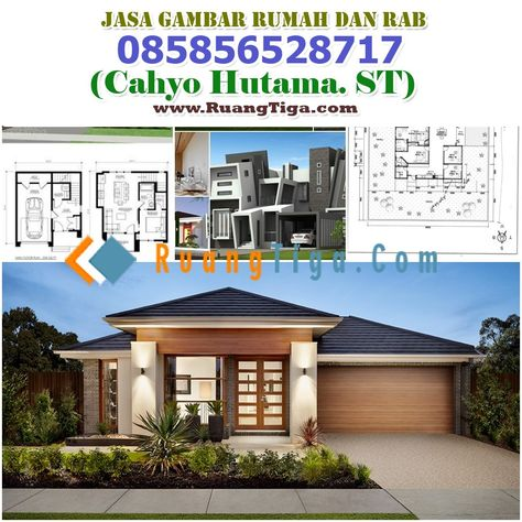 Gambar Desain Rumah Minimalis Dwg  085856528717 j rumah arsitek dan home fashion