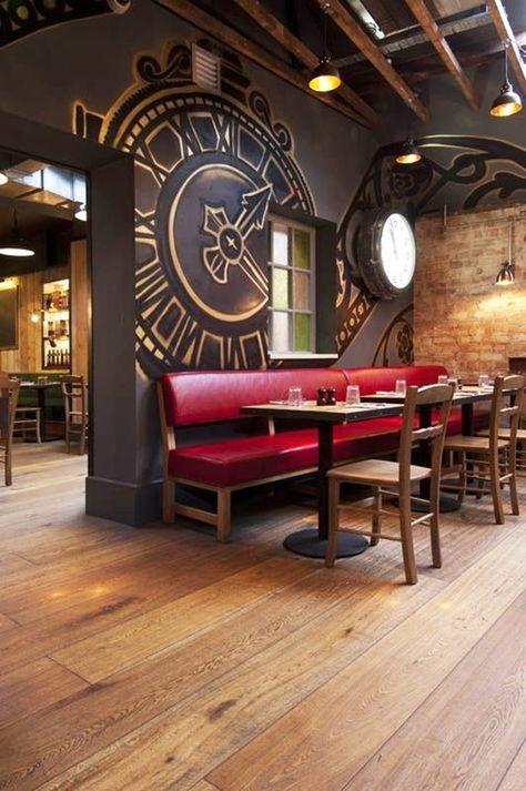 21 Epic & Successful Restaurant Interior Design Examples Around the World - Claudia Schug - technologie