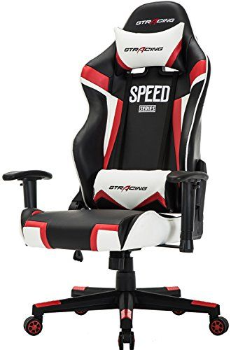 Gtracing Gaming Chair Ergonomic Racing Chair Recliner High Back Executive Office Chair Pu Leather Computer Chair Adjustab Sport Chair Racing Chair Gaming Chair
