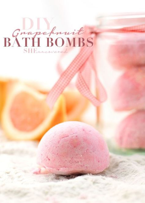 De-stress with these invigorating DIY bath bombs—Yes, please!