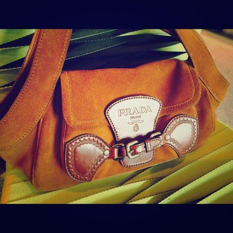 Selling this Prada Suede Hobo Handbag in my Poshmark closet! My username  is  sayacouture.  shopmycloset  poshmark  fashion  shopping  style  forsale   Prada ... 1768aac6af