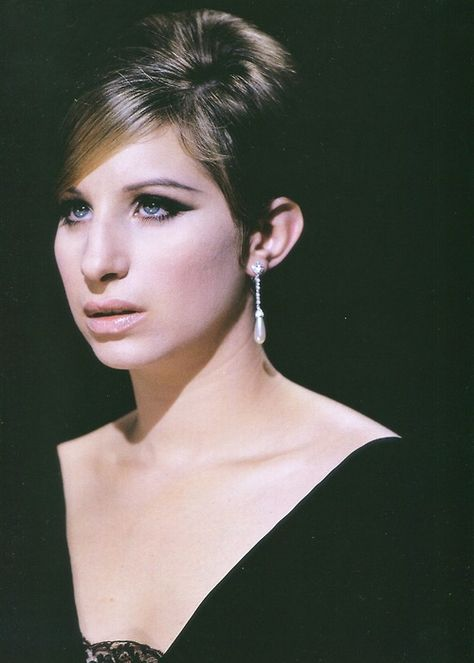 Barbra Streisand in 'Funny Girl', 1968 - She won a Best Actress Academy Award as well as winning a Golden Globe Best Actress award for her role of legendary comedienne, Fanny Brice.