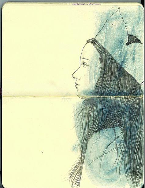 Crown By Yoshinori Kobayashi Via Flickr Art Journal Sketchbook
