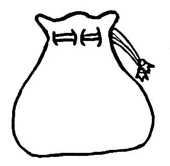 Black and white suitcase clipart 7   Nice clip art