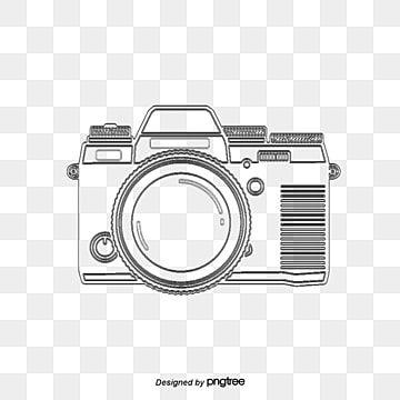 Camara De Dibujo Lineal De Vectores Linea Camara Camara Canon Png Y Psd Para Descargar Gratis Pngtree In 2021 Camera Logo Camera Logo Vintage Camera Drawing