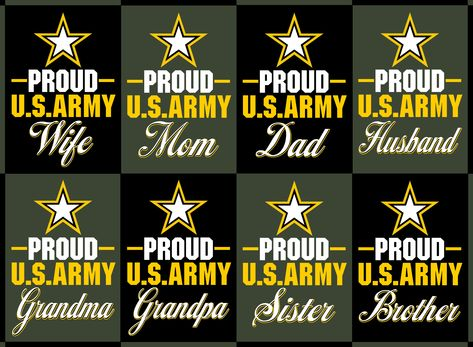 6ce239341fe Proud US Army Family Collection Proud US Army T-Shirts